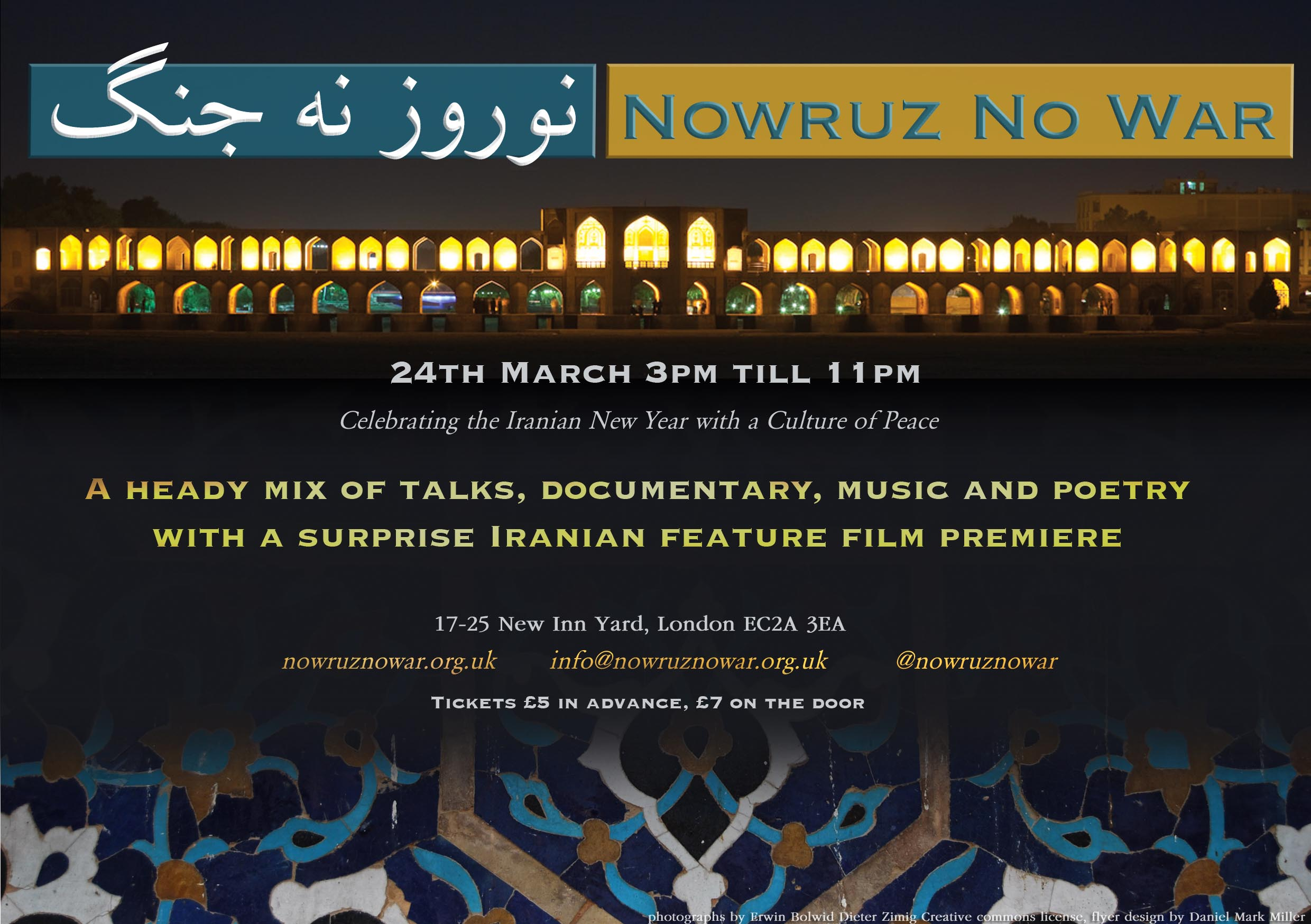 Nowruz No_War_24th_March_London